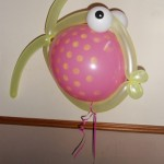 Helium fish balloon