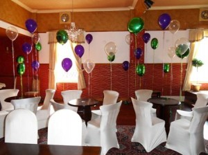 staggered balloons, themed balloons, foil balloons, latex balloons, number balloons, themed balloon displays, blackpool party balloons, blown away balloons blackpool