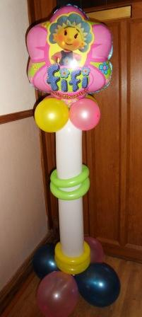 Fifi flowertot balloon display