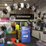 Corporate balloons, balloon arches, helium balloons, themed balloons, currys preston