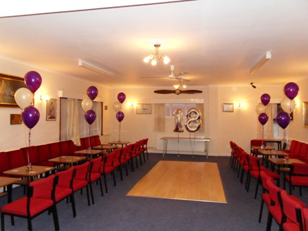 18th helium latex and foil party balloons