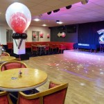 21st Double Bubble Balloons and Helium number foils