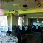 90th foil and latex balloons