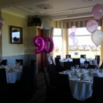 90th foil and latex party balloons, balloons blackpool
