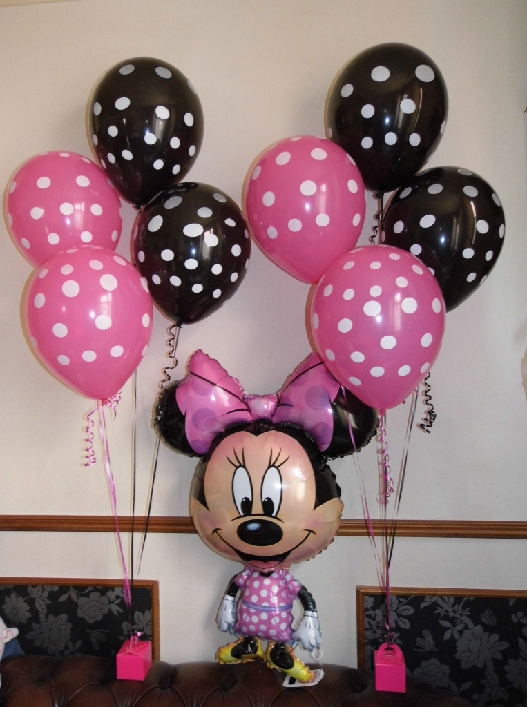 Minnie Mouse Balloons, themed balloons, childrens balloons