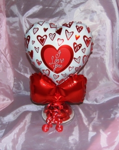 Chocolate weighted balloon