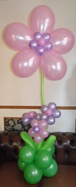 Mothers Day flower balloons