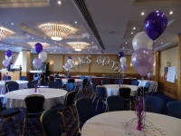 60th party balloons, balloons blackpool, balloon arch, name balloons, candy ferris wheel, helium balloons, led balloons