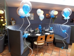 portofinos lytham, bubble balloons, 60th balloons, helium balloons, bespoke balloons, balloons lytham, blown away balloons lytham, balloon decor lytham, bespoke balloons lytham