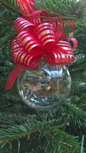 personalised baubles, christmas baubles, christmas gifts blackpool, blown away balloons blackpool
